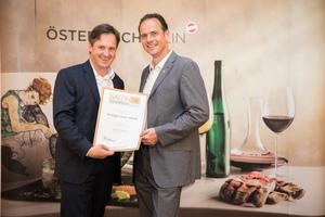 Weingut Jamek Josef, Präsident des österreichischen Weinbauverbandes NR Hannes Schmuckenschlager