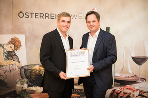 Weingut Eminger, Präsident des österreichischen Weinbauverbandes NR Hannes Schmuckenschlager