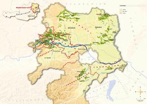 Topografische Karte Niederösterreich