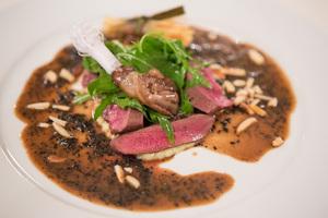 SALON Gala Dinner 2012 - Bresse Taubenbrust mit Mandeln