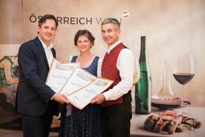 Schilcherei Johannes und Luise Jöbstl, Präsident des österreichischen Weinbauverbandes NR Hannes Schmuckenschlager