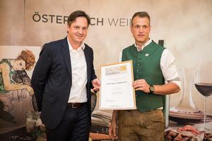 Weingut Lamprecht, Präsident des österreichischen Weinbauverbandes NR Hannes Schmuckenschlager