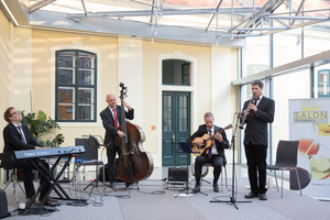 SALON Gala Dinner 2016, Apothekertrakt Schloss Schönbrunn 28. Juni 2016 - David Marsall Hot Jazz Quartet
