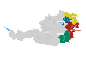 Österreichs Klimaräume im Weinbau