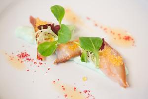 SALON Gala Dinner 2012 - Hausgemachter Stör mit Wasabischaum