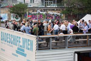 VieVinum 2012 - Gemütliches Get together am Badeschiff Wien, 31.05.2012