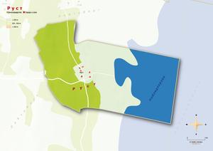 Topografische Karte Rust, russisch