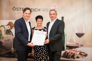 Weingut Kaiser, Präsident des österreichischen Weinbauverbandes NR Hannes Schmuckenschlager