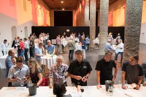 SALON 2017 - Publikumsverkostung Salzraum Hall, 28. 6. 2017