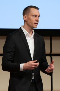 Michael Zimmermann (ÖWM) erläutert die Aktivitäten des Bereichs Märkte International.