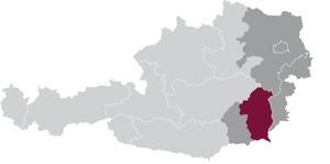 spezifisches Weinbaugebiet Vulkanland Steiermark