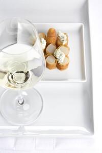 Gebackener Spargel mit Weißwein