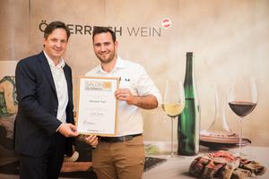 Weingut Topf, Präsident des österreichischen Weinbauverbandes NR Hannes Schmuckenschlager
