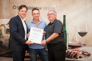 Weingut Ebinger, Präsident des österreichischen Weinbauverbandes NR Hannes Schmuckenschlager