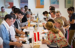 Weingipfel 2015 - Sweet Wine Tasting from both sides of the Lake Neusiedl, Nationalparkzentrum Neusiedlersee