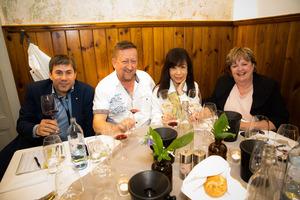 """Weingipfel 2017: Dinner accompanied by """"Wachau Single Vineyard Wines"""", Restaurant Wachauerstube, Dürnstein"""