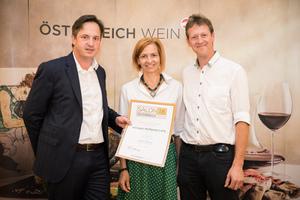 Weingut Wolgang Lang, Präsident des österreichischen Weinbauverbandes NR Hannes Schmuckenschlager