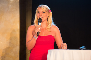 SALON Gala Dinner 2012 - Die Moderatorin des Abends: Brigit Perl