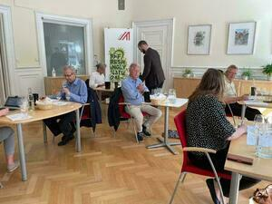 Guests at Private Tasting Stockholm