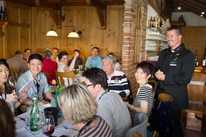 Weingipfel 2015 - Lunch with local delicacies from Burgenland feat. Mittelburgenland DAC, Eisenberg DAC, Leithaberg DAC, Neusiedlersee DAC, Presshaus Haider, Illmitz, Burgenland