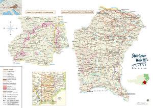 Riedenkarte Vulkanland Steiermark (Stand 2014)