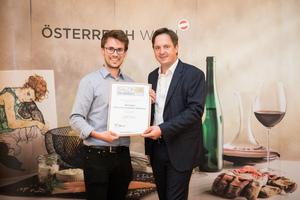 Weingut Hans und Christine Nittnaus, Präsident des österreichischen Weinbauverbandes NR Hannes Schmuckenschlager