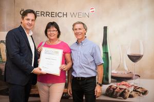 Weingut Migsich, Präsident des österreichischen Weinbauverbandes NR Hannes Schmuckenschlager