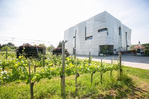 """Weingipfel 2015 - Wanderung des """"WEINWEG Langenlois"""" und Gebietseinführung Kamptal, mit anschließender Grillerei und Weinbar Kamptal präsentiert von: Wolfgang Schwarz (Tourismusbüro Ursin Haus), Fred Loimer (Regionales Weinkomitee Kamptal)"""