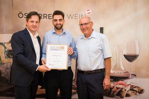Weingut Fein, Präsident des österreichischen Weinbauverbandes NR Hannes Schmuckenschlager