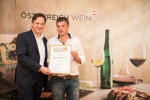 Weingut Ruttenstock, Präsident des österreichischen Weinbauverbandes NR Hannes Schmuckenschlager