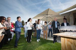 Weingipfel 2015 - Discover wines from Wagram in a typical Kellergasse, Kellergasse, Feuersbrunn am Wagram