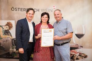 Weingut Familie Haller, Präsident des österreichischen Weinbauverbandes NR Hannes Schmuckenschlager