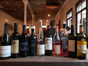 Weinauswahl Weinbar
