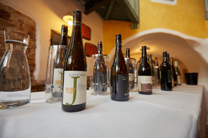 """Weingipfel 2017: Walking Tour at Kalvarienberg """"Der dritte Weg"""" and Outdoor Tasting """"Kamptal Single Vineyard Wines"""" (Bad weather alternative: Alte Schmiede, Schönberg am Kamp)"""