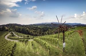 Klapotetz in der Ried Kranachberg, Südsteiermark, Steiermark