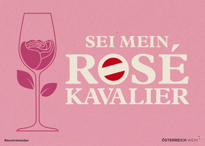Cartoon/Freecard: Rosé-Kavalier